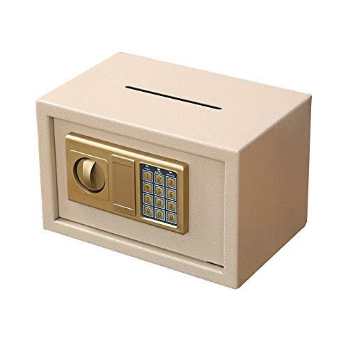 QWEA Hucha de gran capacidad, caja de contraseña, caja fuerte, hucha, antirrobo, almacenamiento anticaída, caja de almacenamiento para adultos y niños, monedas y billetes para almacenamiento de dinero
