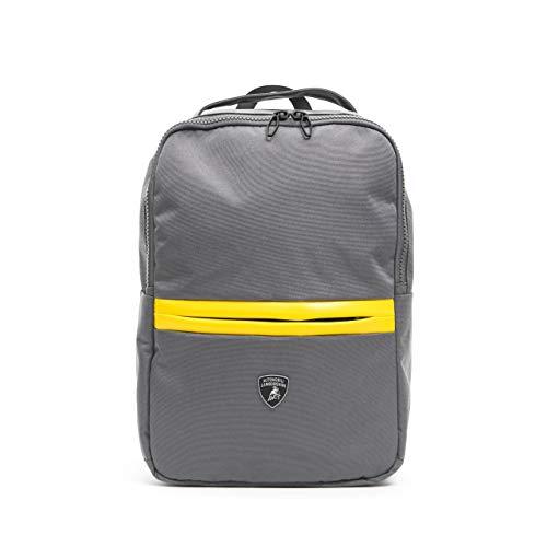 LamborghiniGrigio Grey Backpack