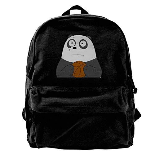 We Bare Bears Vintage Unisex Casual Canvas Backpack Laptop Bag/Business Backpacks/School Backpack/Travel Backpack