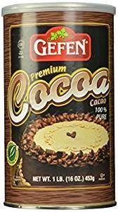 Gefen Premium Cocoa 100% Charlotte Our shop OFFers the best service Mall Pure Gluten Oz. 16 Pack Of Free 3.