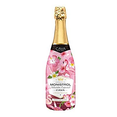 Monistrol Selección Especial Rosé DO Cava Brut Flower Limited Edition