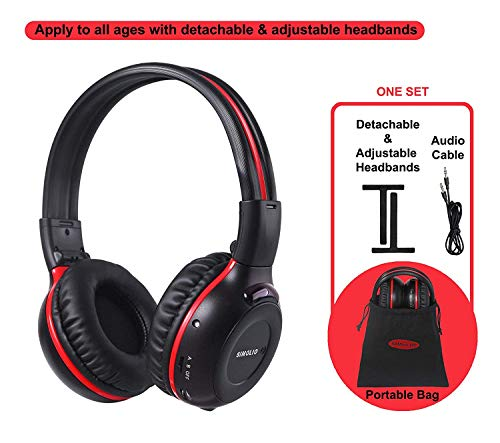 Two Channel Wireless Headphones For Car
