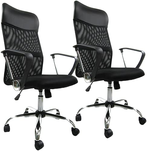 sedia ergonomica ecopelle ZIK Set 2 Sedie da Ufficio Presidenziali