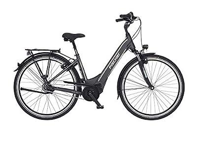 FISCHER E-Bike City CITA 5.0i, Elektrofahrrad, schiefergrau matt, 28 Zoll, RH 44 cm, Brose Mittelmotor 50 Nm, 36 V Akku im Rahmen