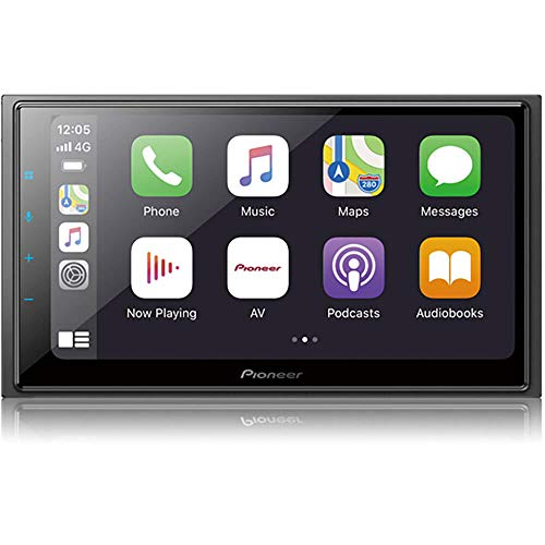 PIONEER 6.8-Inch Double-DIN in-Dash Digital Multimedia Receiver with Bluetooth, Amazon Alexa, Apple CarPlay, Android Auto, HD Radio, and SIriusXM Ready