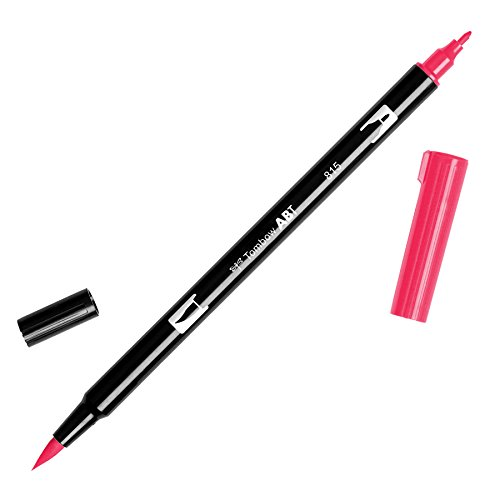 Caneta Tombow Dual Brush Pens Cherry Abt815
