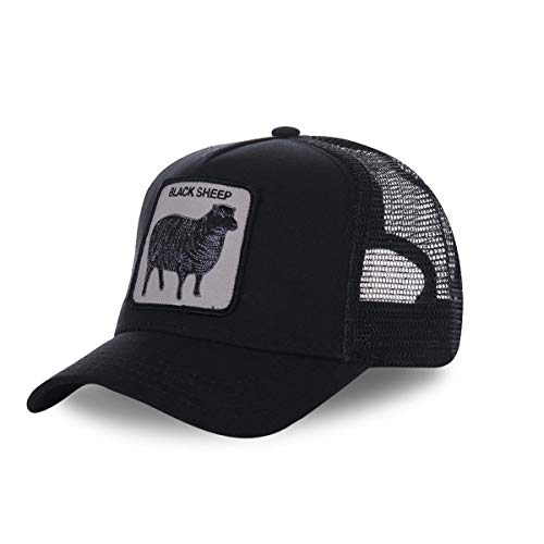 Goorin Bros Casquette Baseball Homme Black Sheep - Noir - Taille Taille unique
