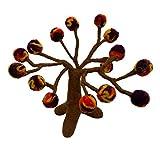 Filz Feen Herbst Pompon Baum - gefilzt - Filz Shop -