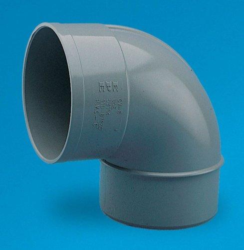 Adequa sistemas de canalón - Codo 87,5 pvc cv-8 macho-hembra diámetro 110