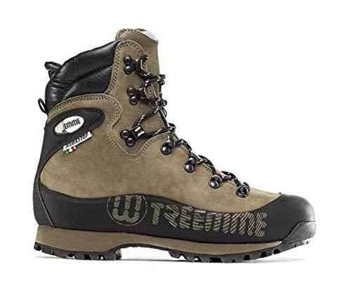 Shoes zapatos schuhe chaussures TREEMME scarpa Scarpone Trekking pelle Nabuk pieno fiore suola VIBRAM in gomma fodera AQUASTOP Made in Italy cod. 9591