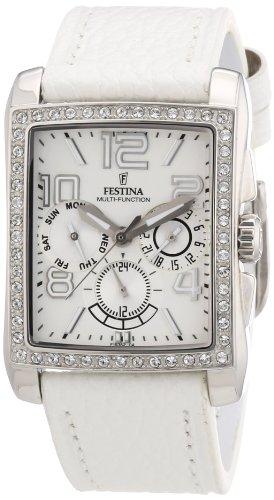 Festina Damen-Armbanduhr XS Trend Lady Multifunktion Chronograph Leder F16362/A