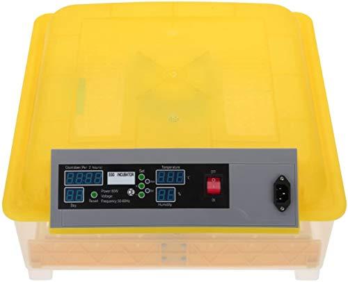 Euroeshop 48 Egg Pollo Digitale Automatica Controllo della temperatura Tornitura Incubatrice Professionale Brevettata