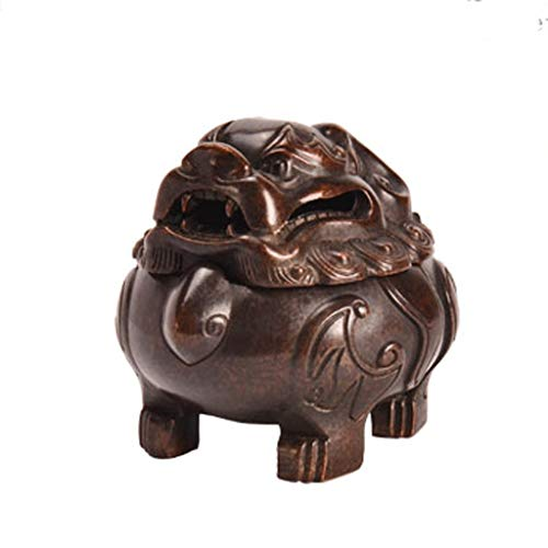 Buy Discount LHBNH Burner Incense Burner WJBH Copper Incense Burner Antique Zen Tea Decoration Study...