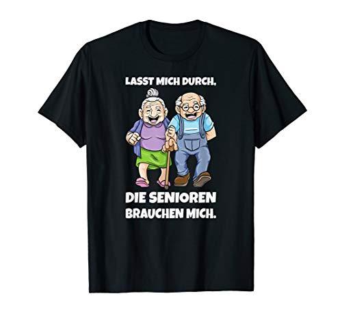 Altenpflege Altenpfleger Senioren Pflege Humor Pflegekraft T-Shirt