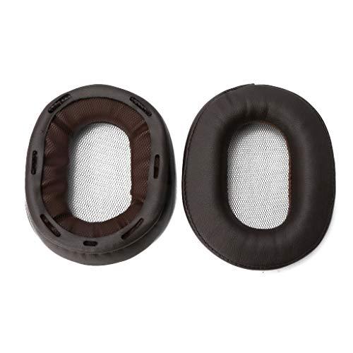 Jenor Coussinets d'oreille en cuir souple pour casque