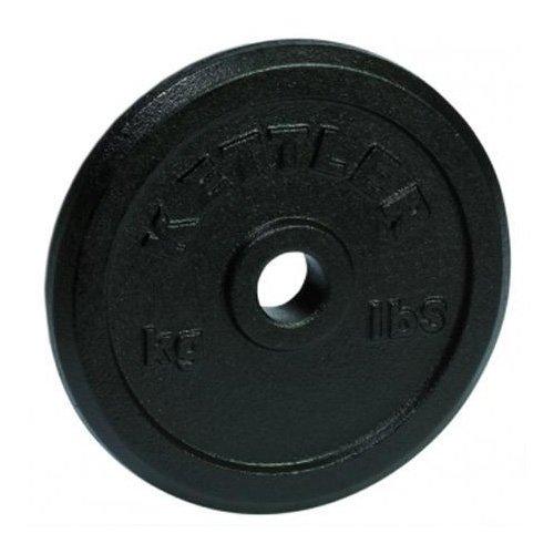 Kettler Disco in ghisa Peso, Colore: Nero, 1,25kg
