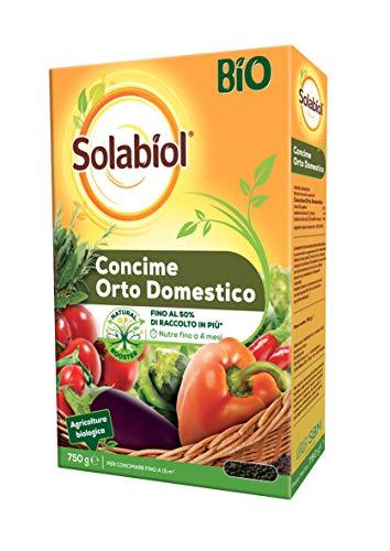 Solabiol Concime granulare Biologico per orto Domestico, 750 gr