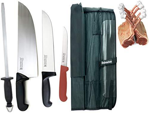 Set di coltelli da macellaio 'Il Novizio' by Dolomiten Inox