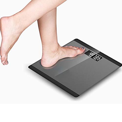 Bilancia Pesapersone Digitale Ad Alta Precisione con Bilancia Pesapersone con Tecnologia Step-on, Display Retroilluminato, Design Sottile