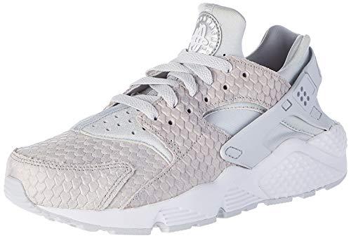 Nike Zapatillas Wmns Air Huarache Run PRM, Deporte Unisex Adulto, Platino Puro Platino Puro, 38.5 EU