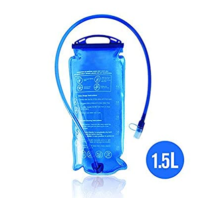 Hydration Bladder Bag, 1.5L / 2L / 3L Cycling Hydration Backpack Water Bag for Sports Hiking Camping Climbing Hiking Blue