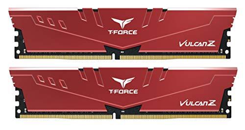 Team DDR4 3600Mhz(PC4-28800) 8GBx2枚(16GBkit) デスクトップ用メモリ ハイスピードタイプ Vulcan Zシリーズ 日本国内無期限保証