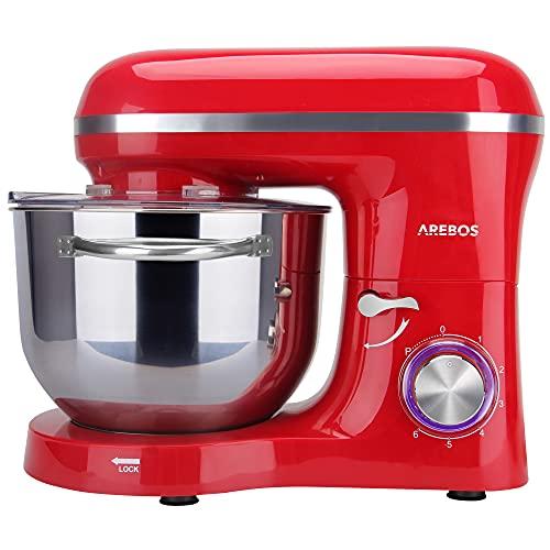 Arebos Küchenmaschine rot