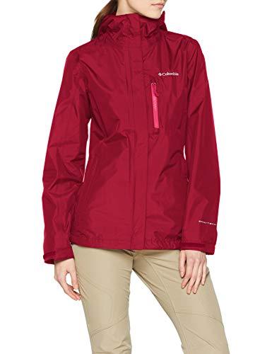 Columbia Damen Pouring Adventure II Rain Jacket, Violett (Wine Berry), S