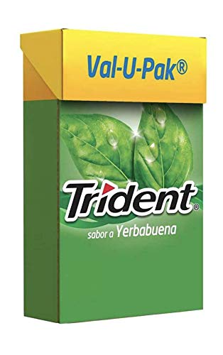 Trident, Val-U-Pack Yerbabuena, 367.2 Gramos