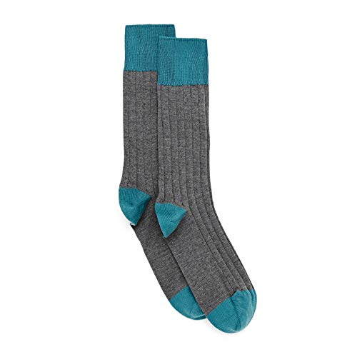 John Smedley Gamma Fashion Socks Medium/Large Charcoal