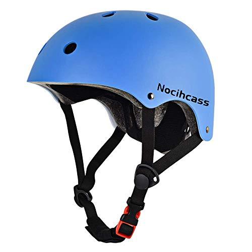 Skateboard-Helm CPSC-zertifizierter Multifunktions-Fahrradhelm für jeden vom Kleinkind Kinder bis zum Jugendlichen Erwachsene für Skaten Scooter Fahrrad Rollerblades Longboard Hoverboard Klettern BMX