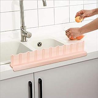 Suction Cup Sink Flap Water Barrier Oil Proof Kitchen Splash Guard Splatter Screens Splash Proof Baffle Kitchen Sink Tool...