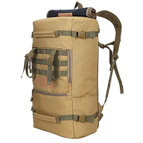 WGKUMMQN rugzak sport outdoor reistas 50 liter grote capaciteit camouflage militaire tactische multifunctionele bagagerugzak A