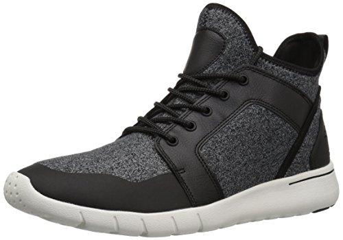 GBX Men's X-13626 Oxford, Black/Grey, 8.5