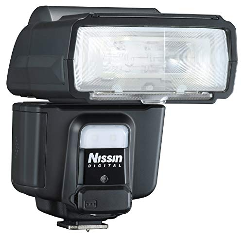 Nissin i60 - Flash para 4/3 OLY/Pan, Negro