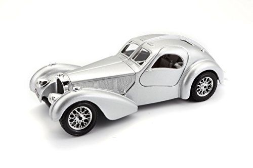 Bburago - 22092 - Bugatti Atlantic 1936 - Échelle 1/24 - Couleur aléatoire