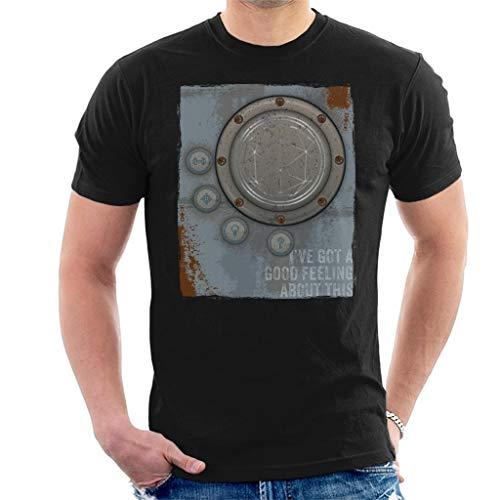 De Crystal Maze aansteker goed gevoel Roest Panel heren T-Shirt