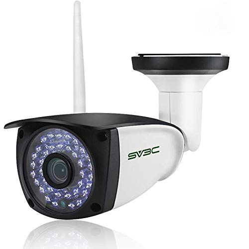 [Updated Version] Wifi Camera Outdoor, SV3C 1080P HD Two Way Audio Security Camera