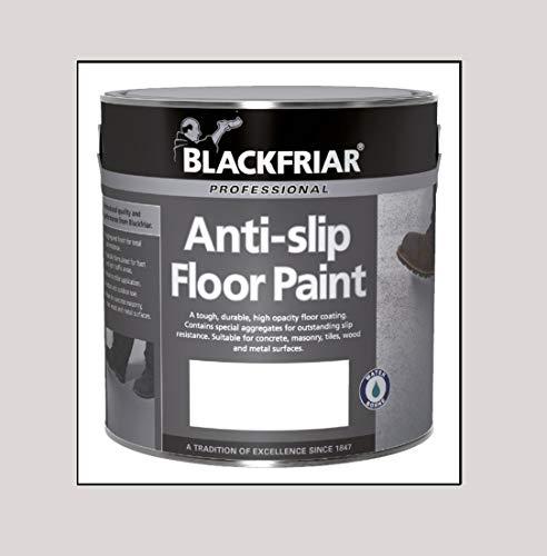 Blackfriar Anti Slip Floor and Step Safety Paint Light Grey - 1 Litre