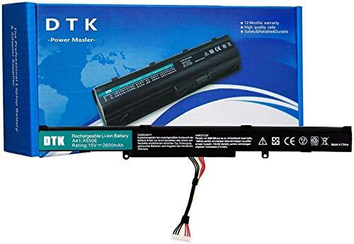 DTK 15V 2600mAh Batteria di Ricambio del Computer Portatile per Asus F550Z A41-X550E X450E X550V X550E X550Z F450 F450E F751 X751L X751M R751 R752