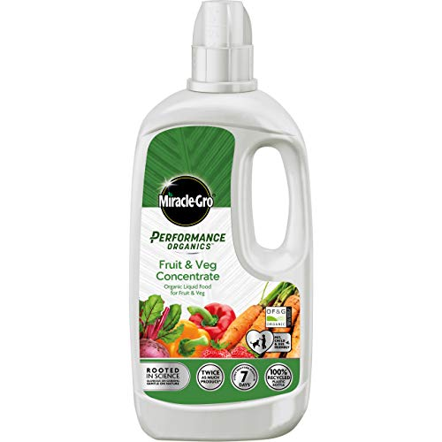 Miracle-Gro 119911 Performance Organics Fruit & Veg Plant Food-1 Litre...