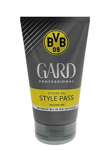 3x Gard Styling Gel BVB09 Edition Style Pass Absoluter Halt je 150ml Halt&Pflege
