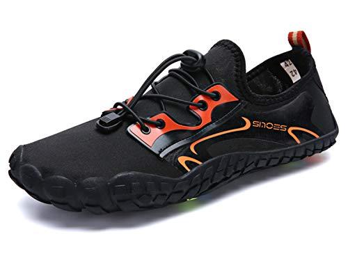 SINOES Zapatos de Agua Hombre Mujer Zapatillas Snorkel Bucear Surf Deportes Acuáticos Escarpines Vela Mar Río Aqua Calzado Piscina Playa Yoga Transpirable de Secado Rápido