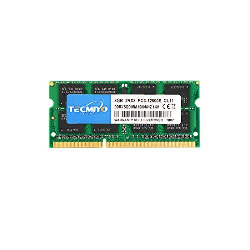 TECMIYO Speicher PC3 12800 8GB DDR3 1600...