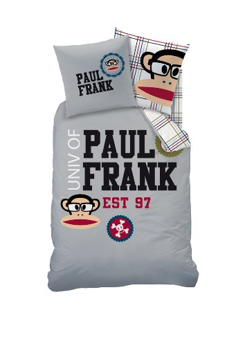 CTI 040703 Bettwäsche Paul Frank Est 97, Baumwolle Linon, 135 x 200 und 80 x 80 cm