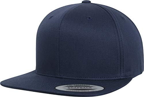 Flexfit Organic Cotton Snapback Cap, Navy, one Size