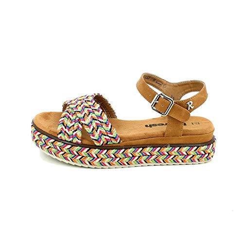 REFRESH Toppa Sandales pour femme Multicolore - - multicolore, 36 EU