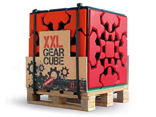 Meffert's M5058 Zahnradwürfel-Puzzle, Mehrfarbig, X-Large