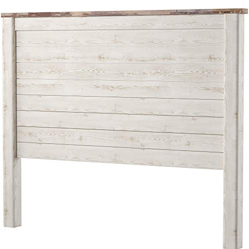Visit the Ashley Furniture Signature Design - Willowton Full Panel Headboard - Contemporary Style - Component Piece - Queen Size - White on Amazon.