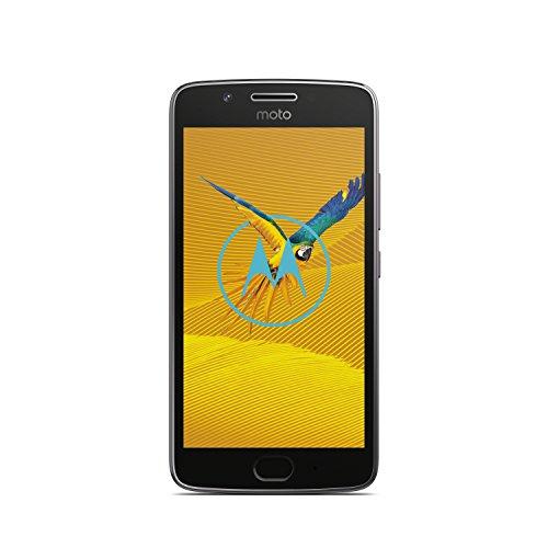 moto g5 Smartphone (12,7 cm (5 Zoll), 2 GB RAM/16 GB, Android) Lunar Grey(Dual SIM)